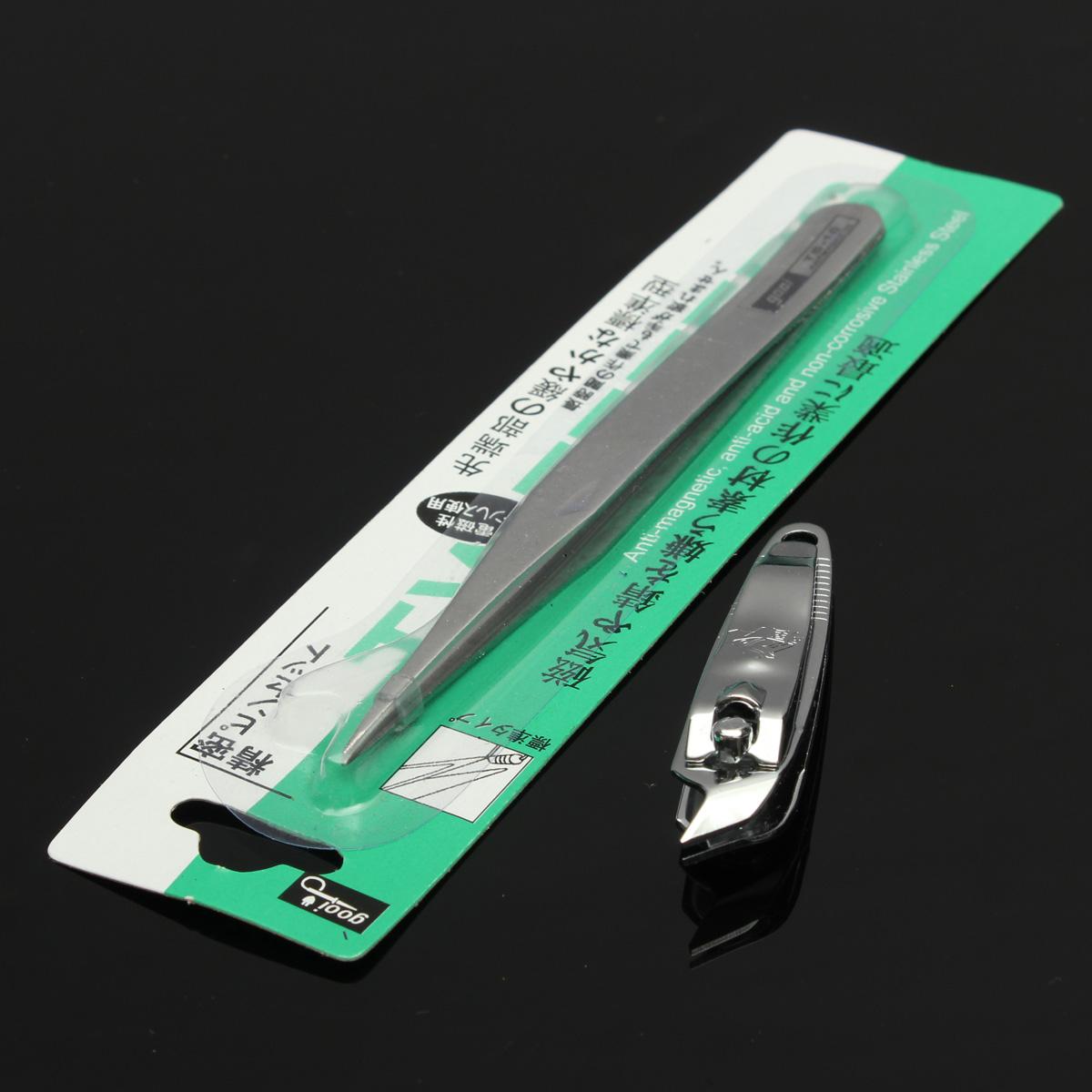 Liquid Gel Acrylic Glitter Powder Brush Tips Manicure Tool Kit Beauty