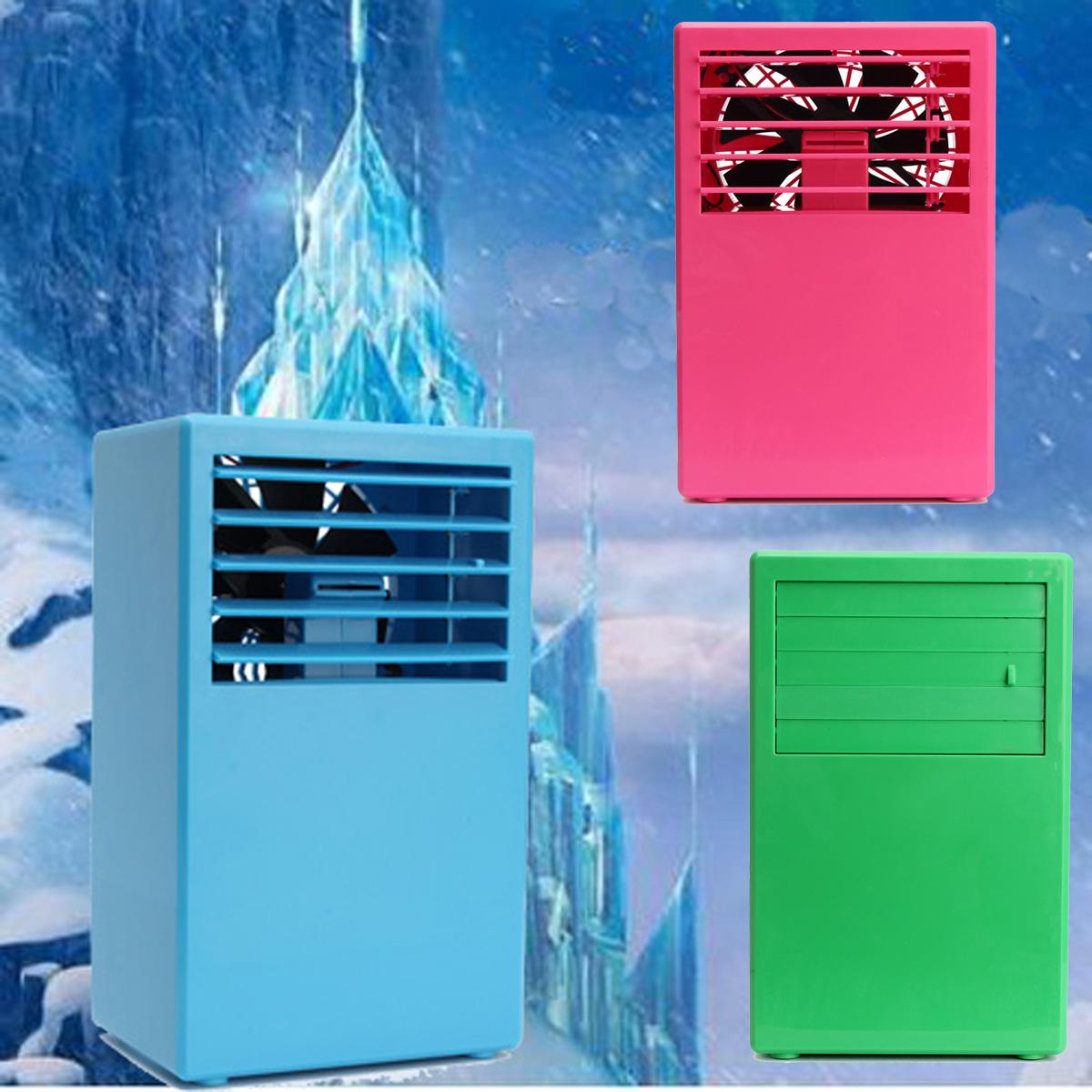 mini klimaanlage k hl l fter luftbefeuchter camping zuhause b ro dc 24v adapter. Black Bedroom Furniture Sets. Home Design Ideas