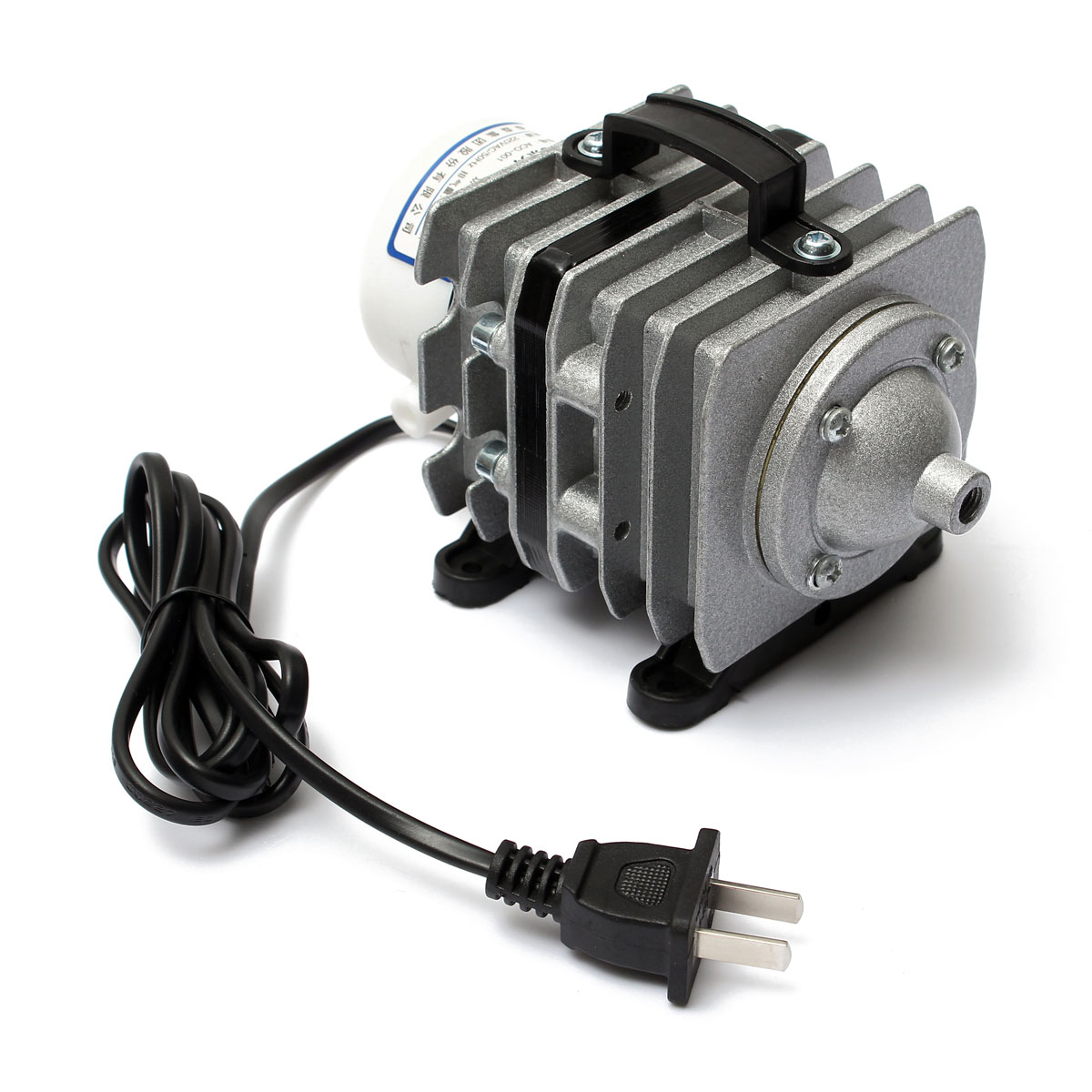 Electromagnetic Air Pump For Aquarium Fish Pond Hydroponic Aco 001 220v 20w Ebay