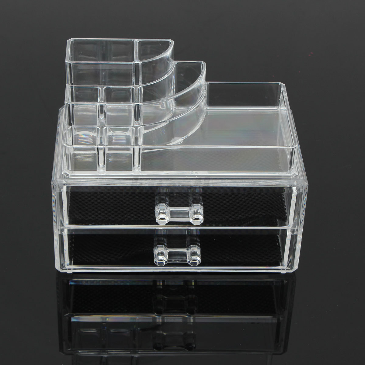 Acrylic Clear Make Up Organizer Cosmetic Display Jewelry