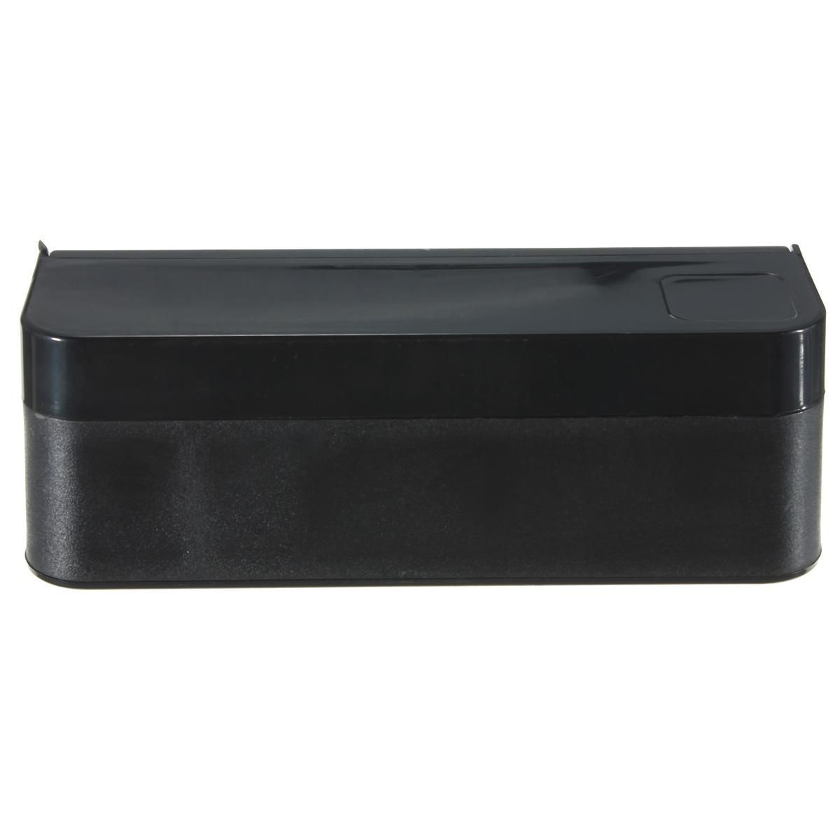 Black Car Interior Coin Case Organizer Plastic Storage Box