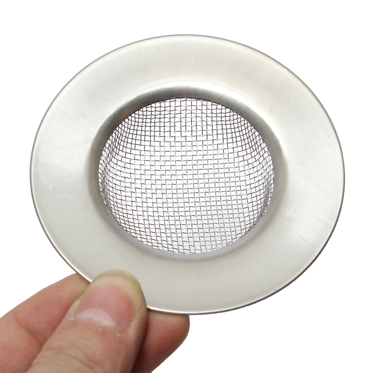 Kitchen Bath Basin Sink Drain Strainer Waste Hair Mesh Filter Stopper Plug Cover