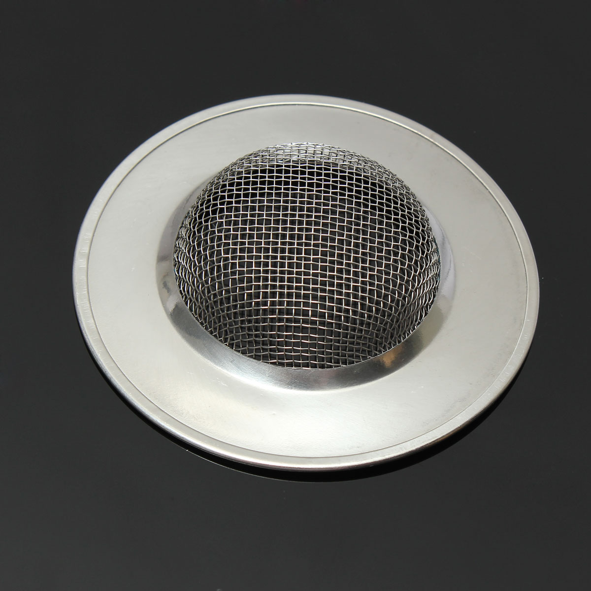 kitchen bath basin sink drain strainer waste hair mesh filter stopper