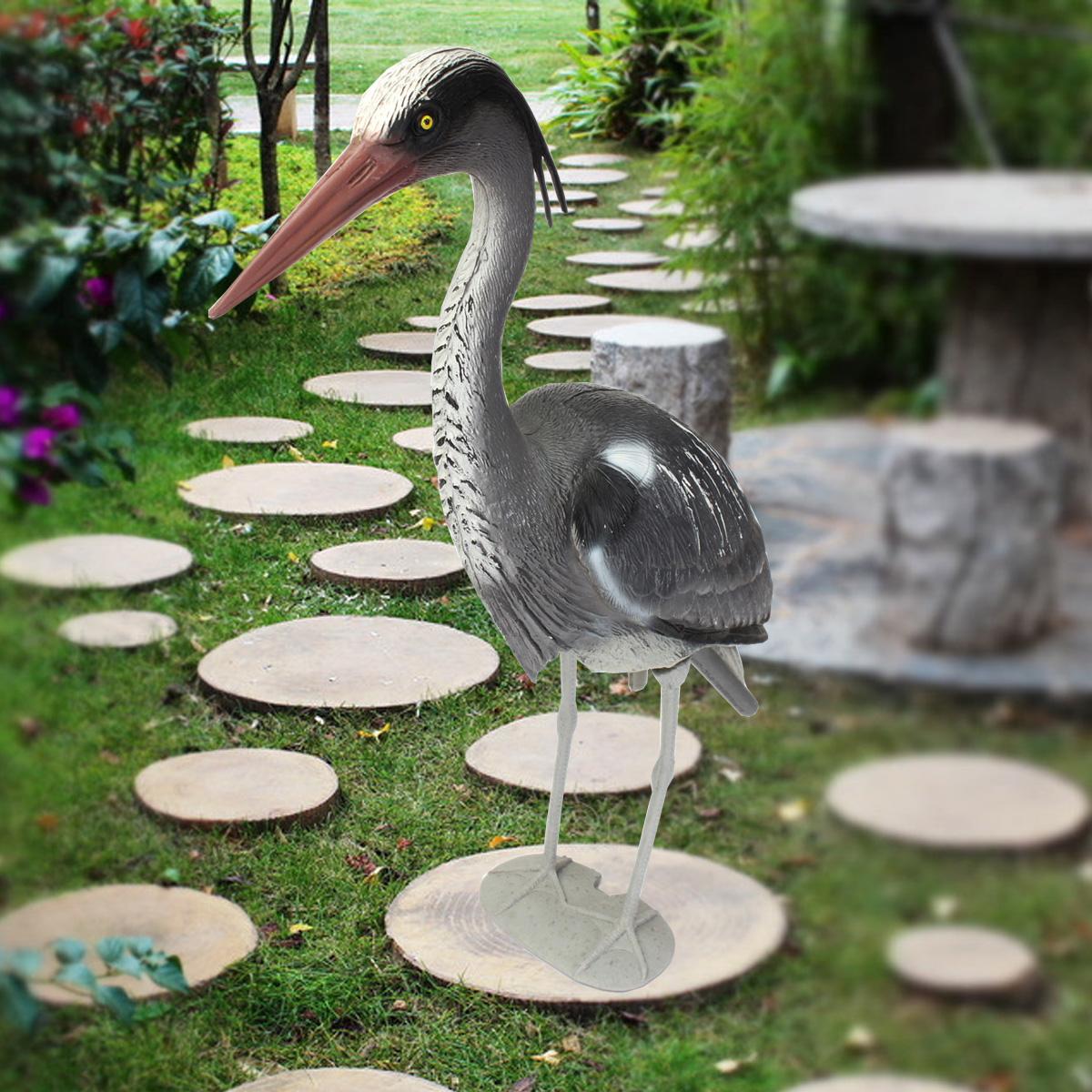 Heron garden ornament - Detail Image