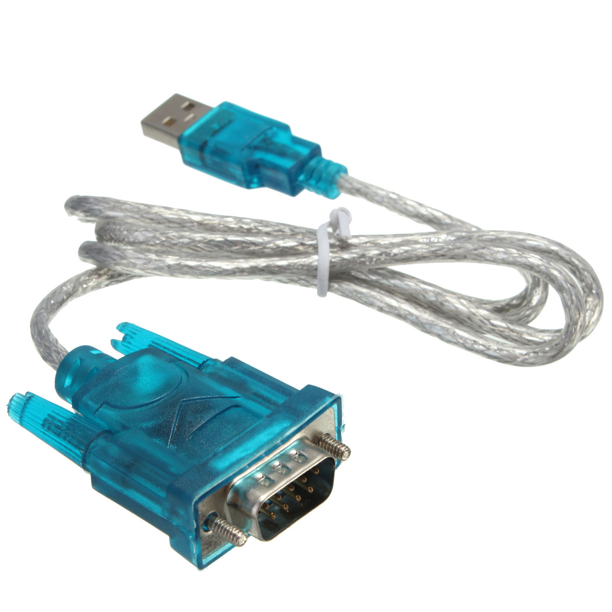 Computer Wire Connectors : Usb to pin serial rs cable cord db adapter