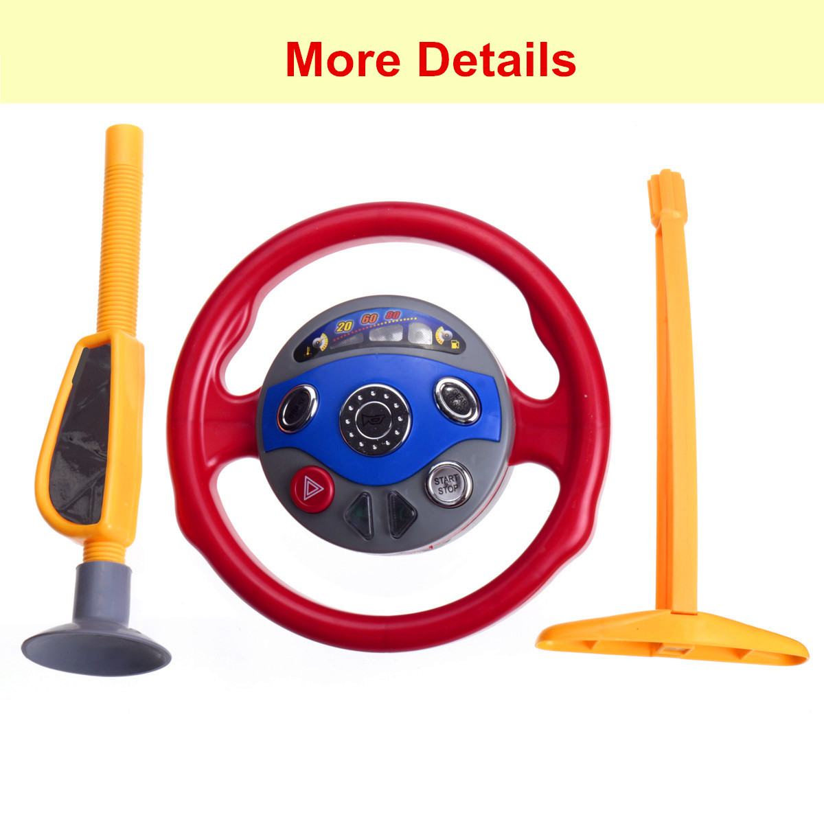 les enfants si ge conducteur voiture volant jouet backseat driver steering wheel ebay. Black Bedroom Furniture Sets. Home Design Ideas