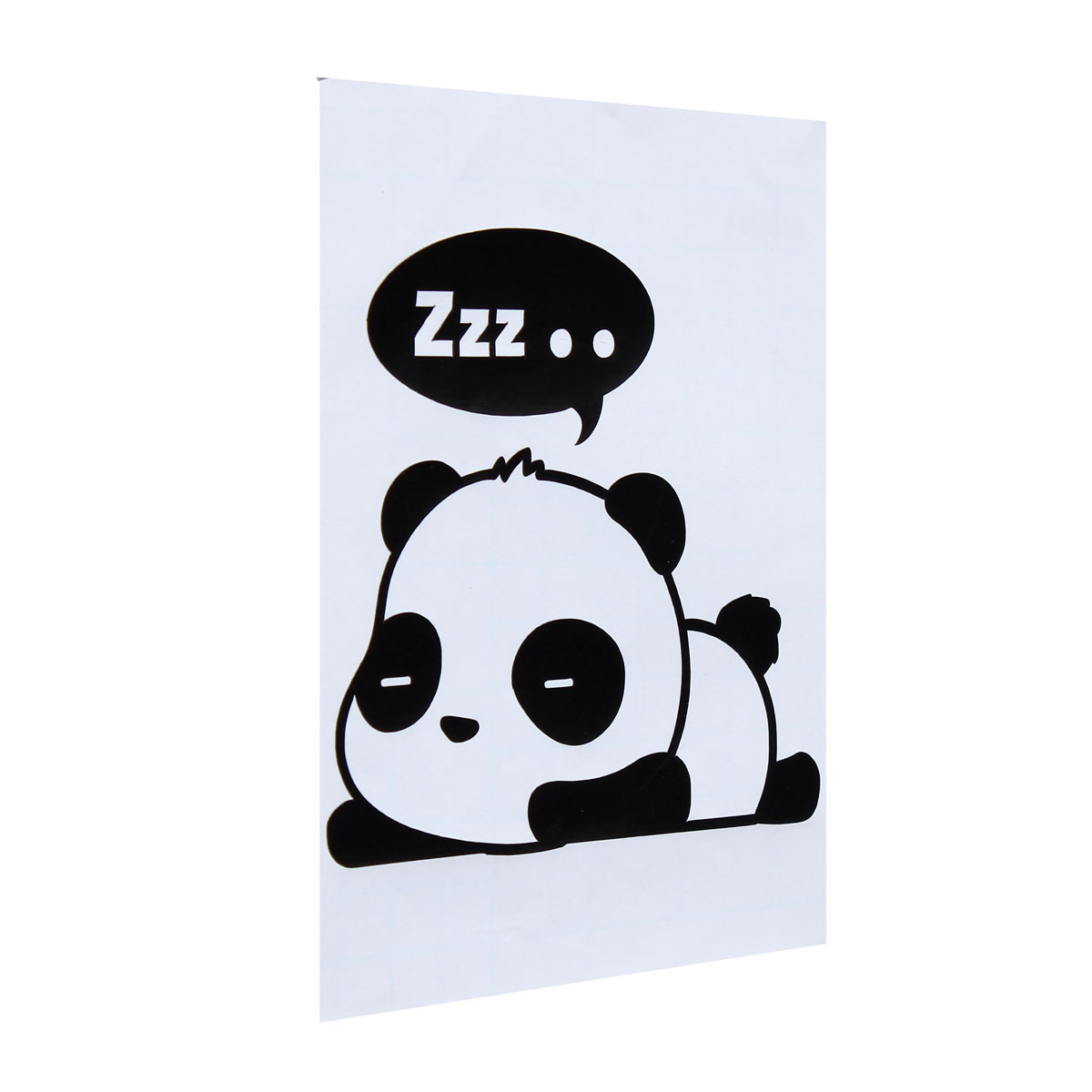 sticker autocollant mural petie panda animal adh sif. Black Bedroom Furniture Sets. Home Design Ideas