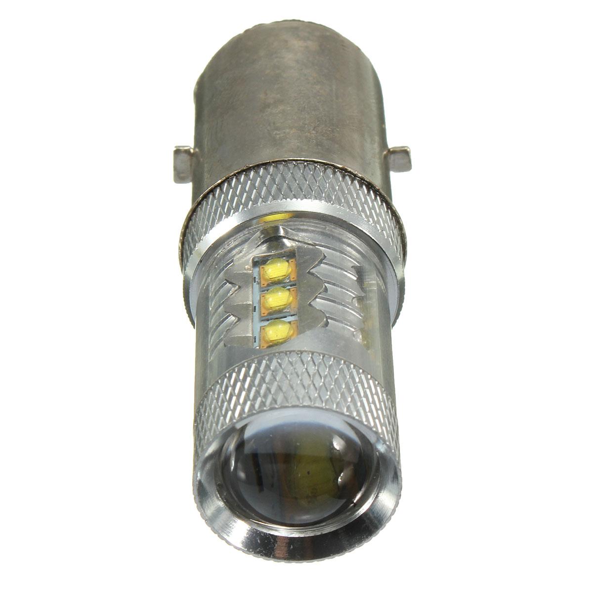 Atv Headlight Bulbs : V w ba d h white led motorcycle motorbike moped