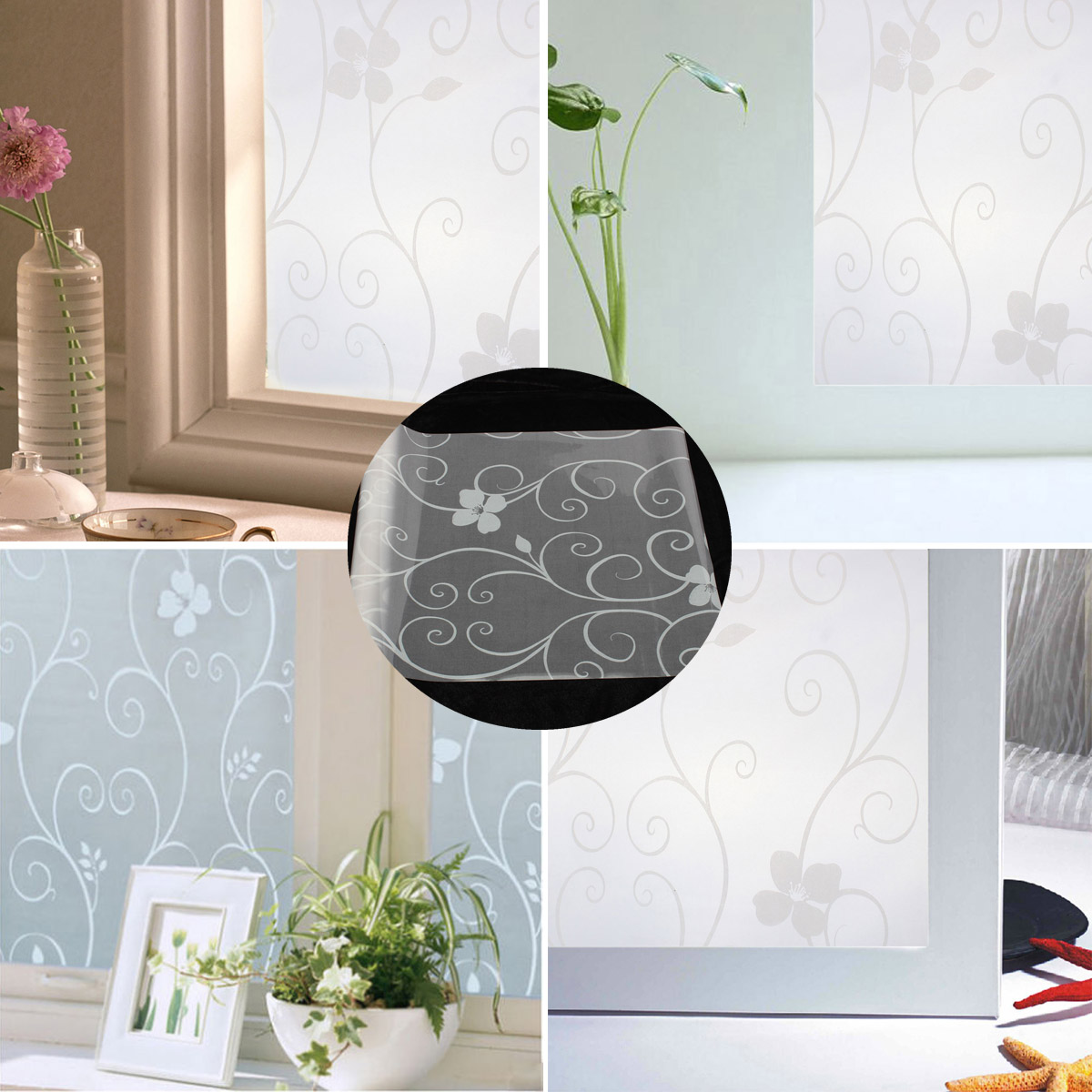 fenster deko folie selbstklebend. Black Bedroom Furniture Sets. Home Design Ideas
