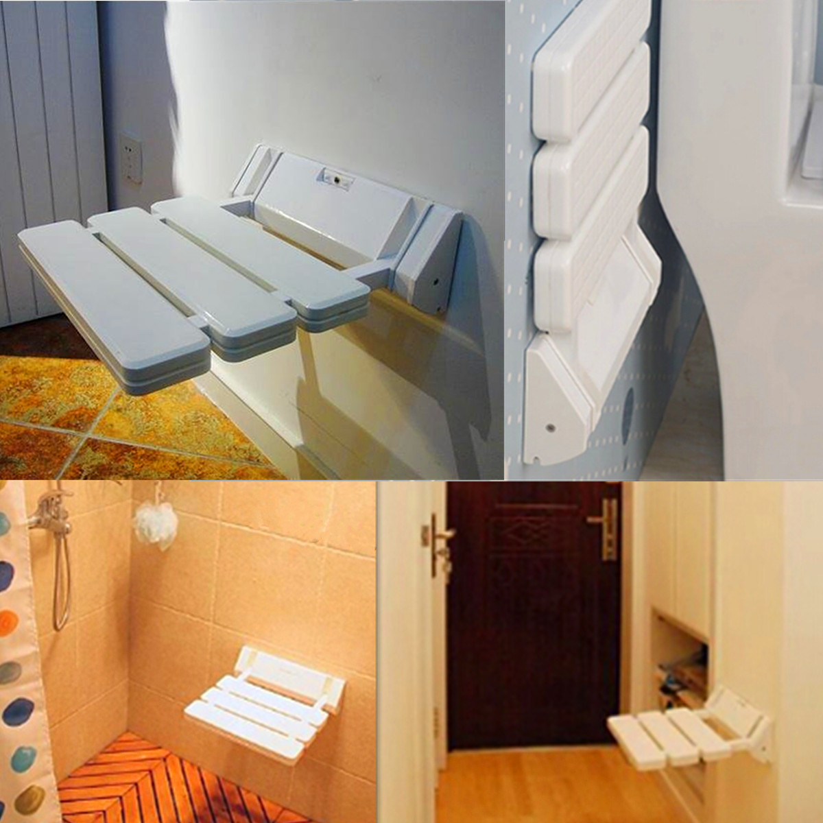 Настенный складной душ сиденье стула ванной стул безопасност.