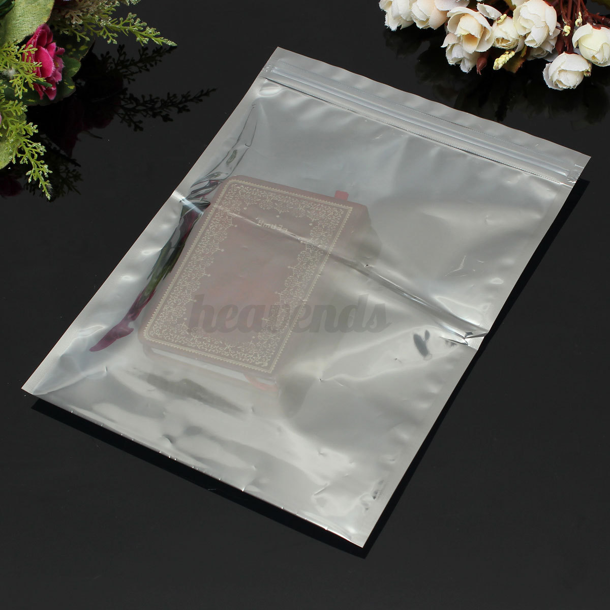 10pcs sachet bag plastique fermeture zip refermable anti statique ziplock pochon ebay. Black Bedroom Furniture Sets. Home Design Ideas