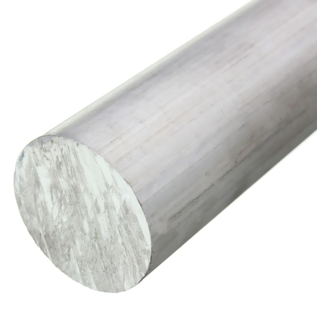 Solid Aluminum Pipe : Aluminum round rod bar tube inch diameter