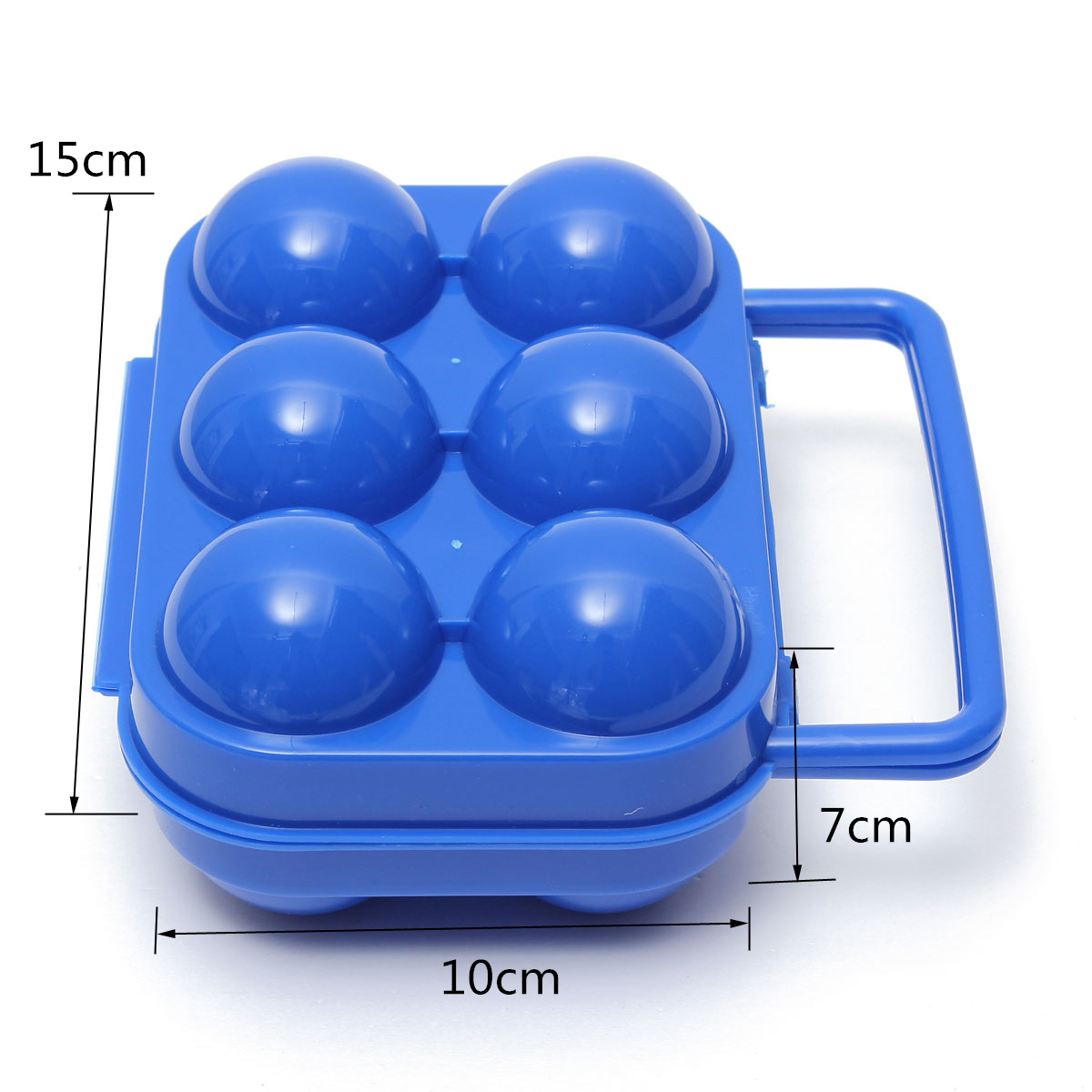 2/6/12 Eggs Box Plastic Carry Holder Container Storage  Folding Portable Camping