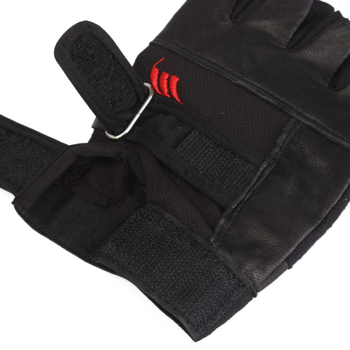 Weight Lifting Gloves Leather Fitness Gym Training Workout: Tactical Men's Leather Weight Lifting Gloves Training Gym