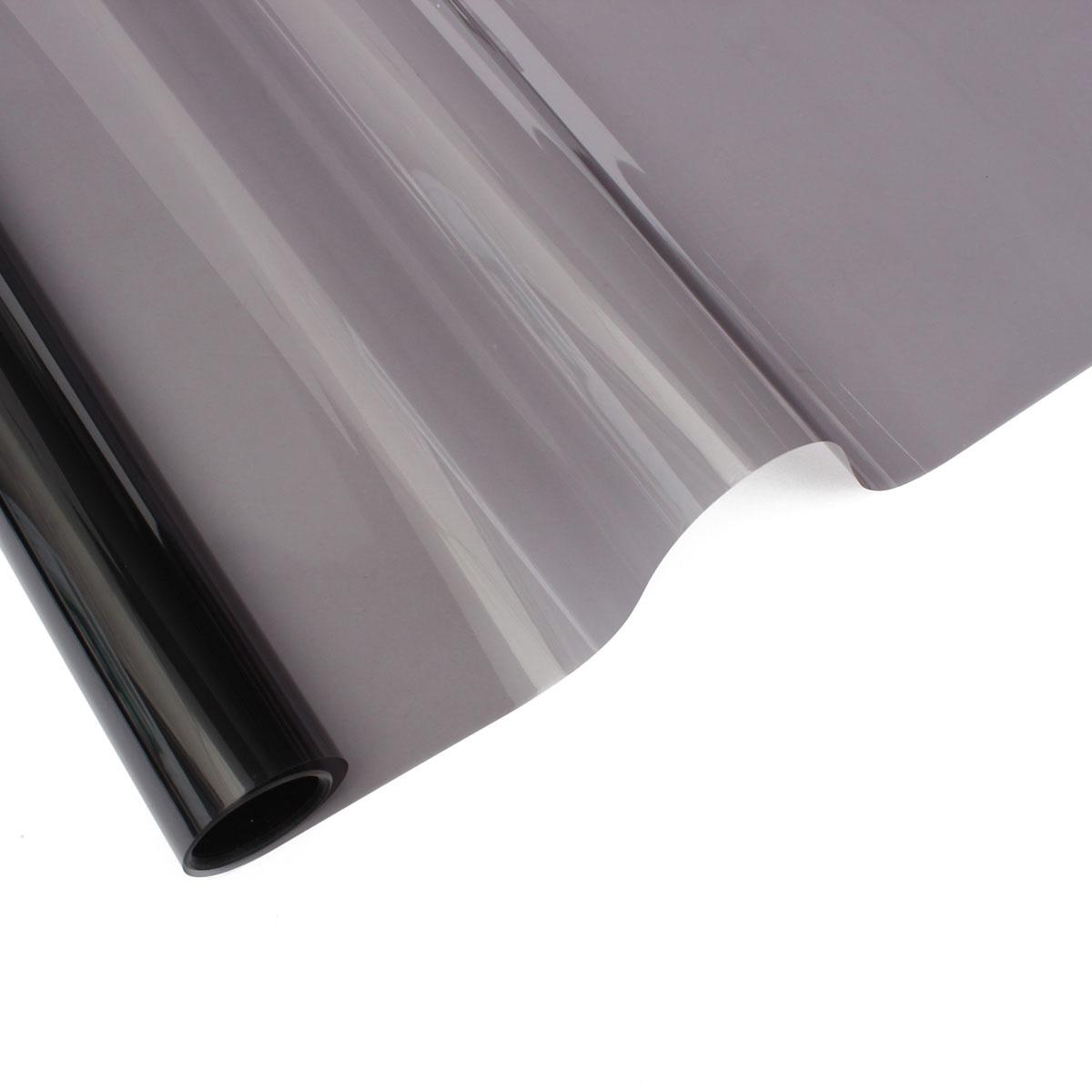6m 50cm film teinte solaire noir autocollant vitre fen tre. Black Bedroom Furniture Sets. Home Design Ideas
