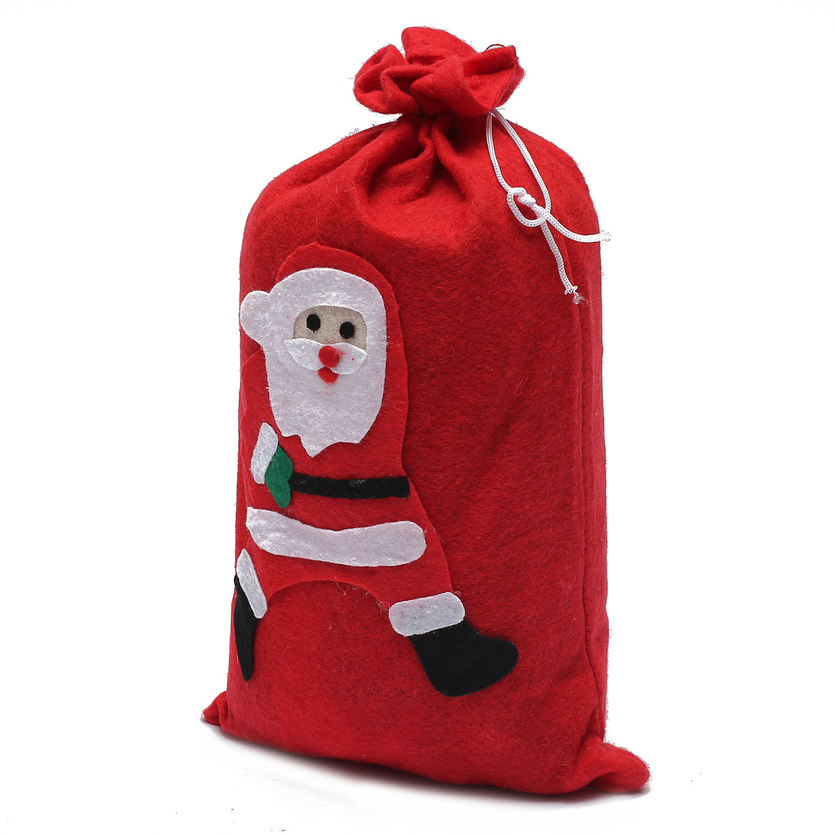 red large santa claus gift sack bag christmas costume accessory random style ebay. Black Bedroom Furniture Sets. Home Design Ideas