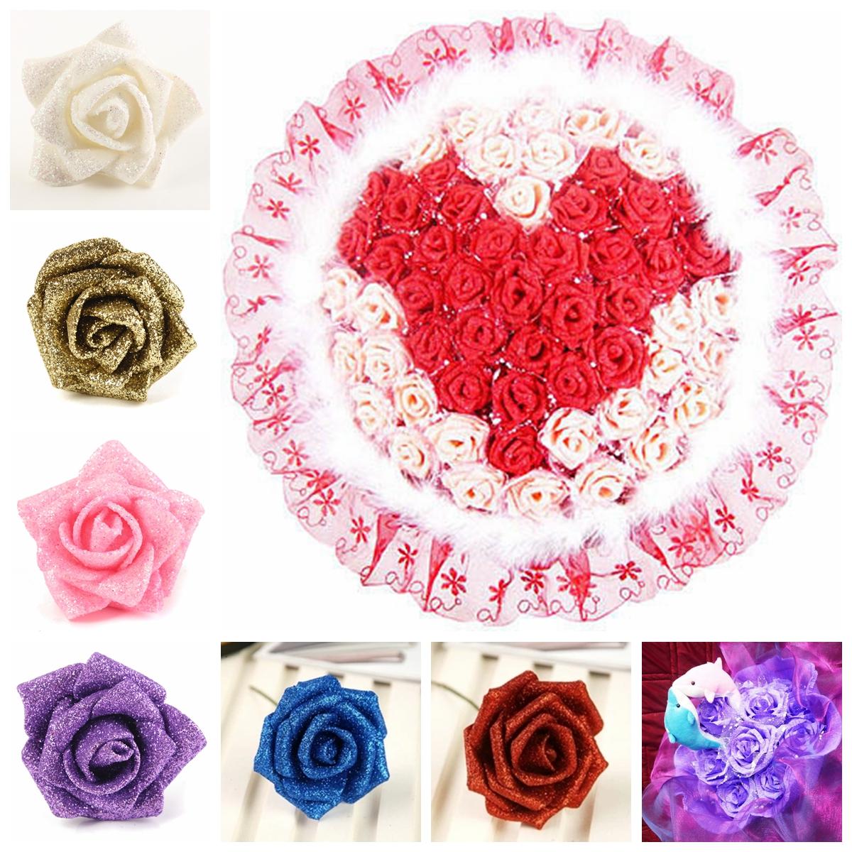 4 6 10 papier pompon de soie fleurs de mariage d coration - Decoration fleur mariage ...