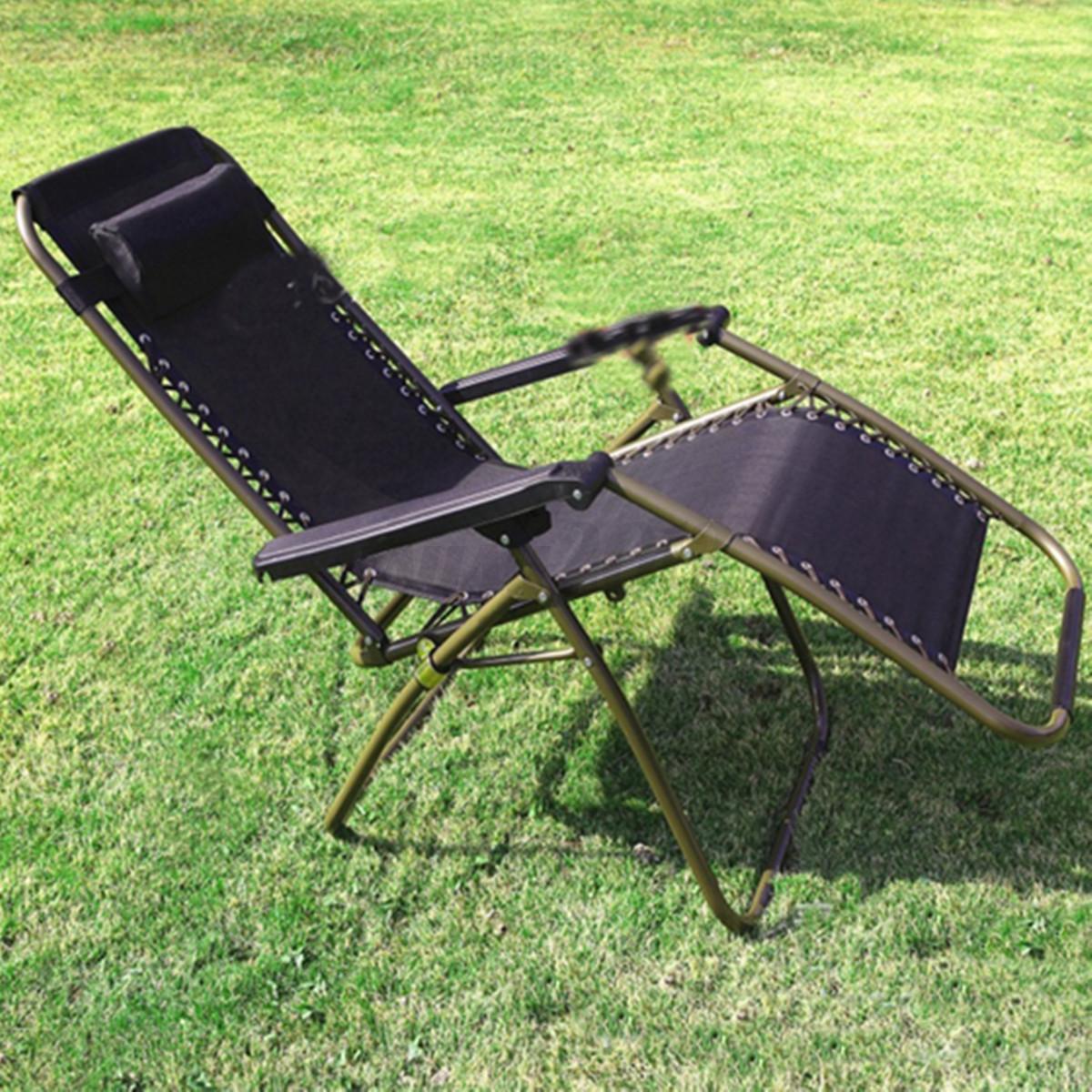 Chaise longue de jardin fauteuil transat pliante terrasse balcon plage si ge uk ebay - Chaise longue balcon ...