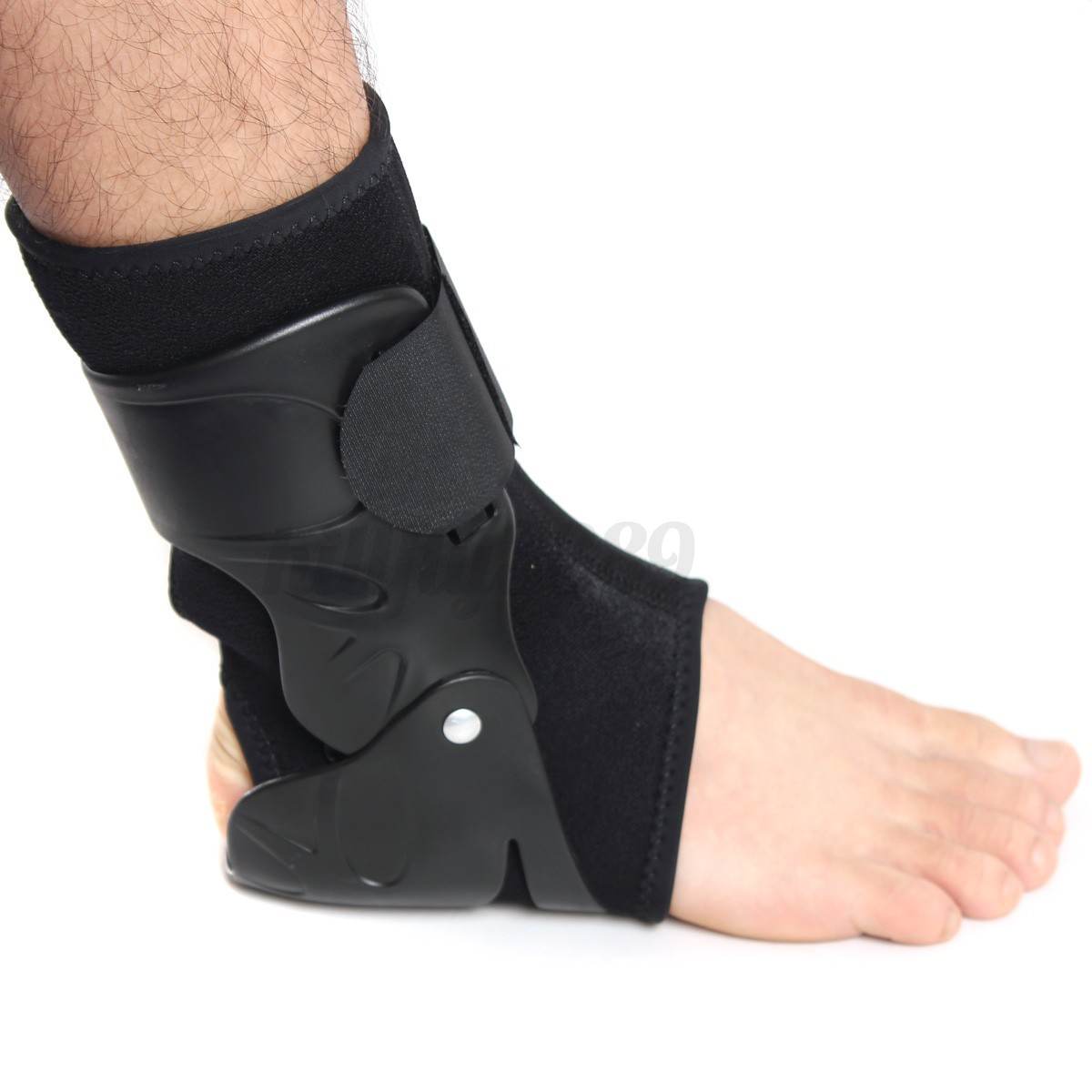 Medical Ankle Support Brace Foot Guard Sprains Tendon