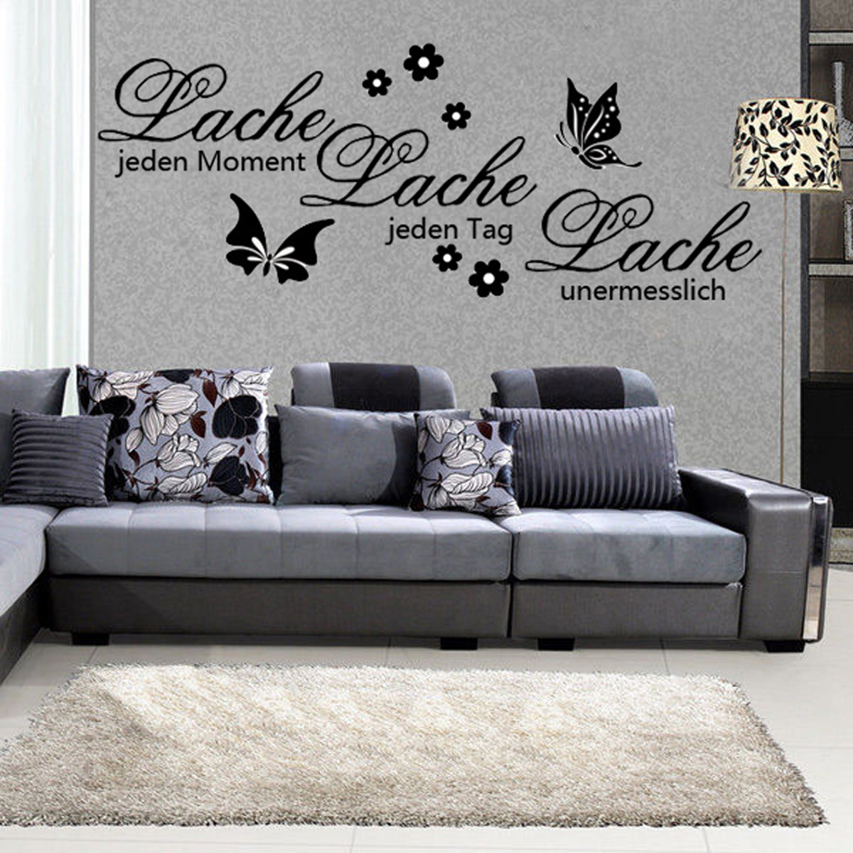 Wall Art Stickers B And Q : Family diy removable art vinyl quote wall stickers decal