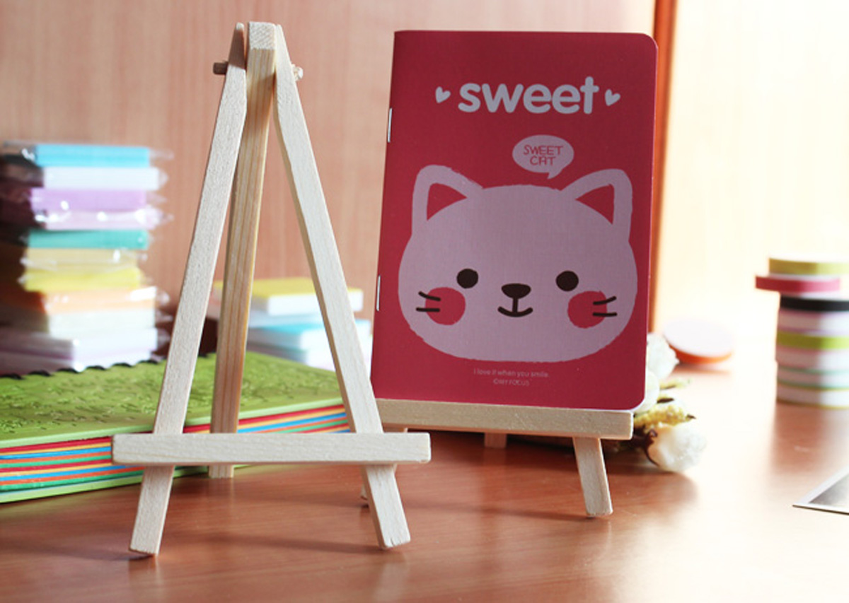 Wood Artist Easel Wedding Table Number Name Card Stand