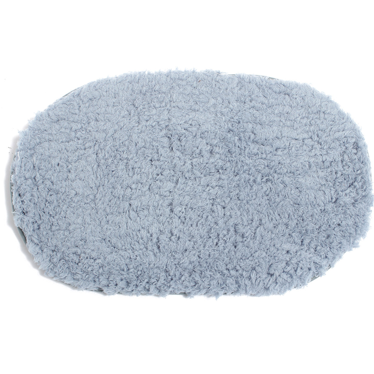ovale tapis shaggy peluche longues m ches antid rapant pr chambre salle de bain ebay. Black Bedroom Furniture Sets. Home Design Ideas