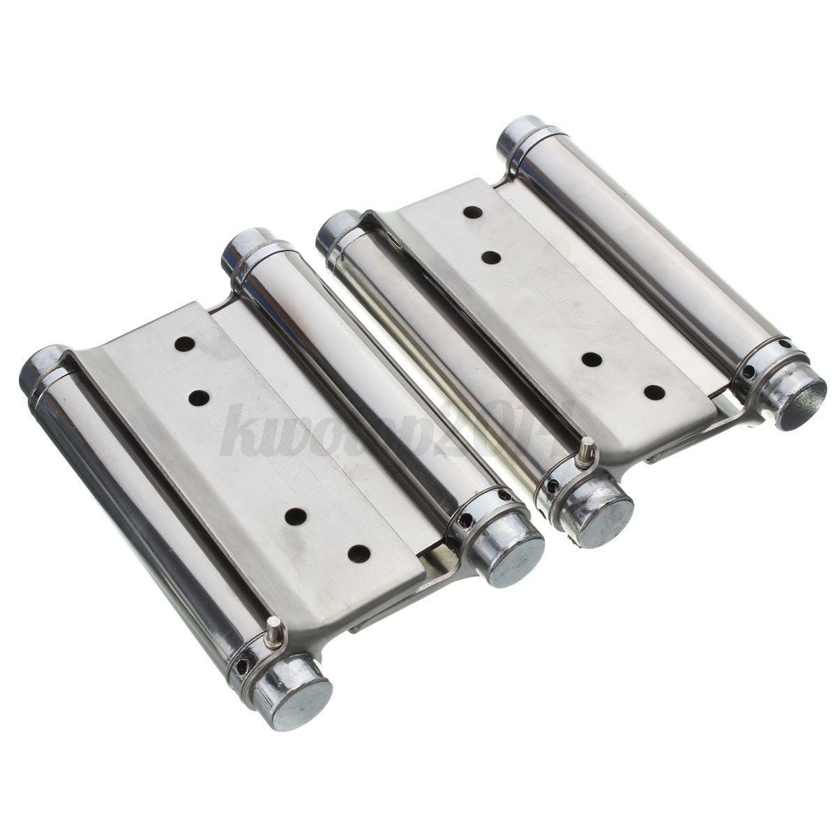 Saloon Door Hinges : Pc quot  double action spring hinge cafe saloon door