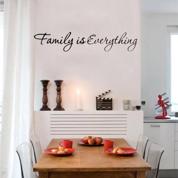 Diy lettre mur sticker autocollant mural decoration salon for Autocollant decoratif maison