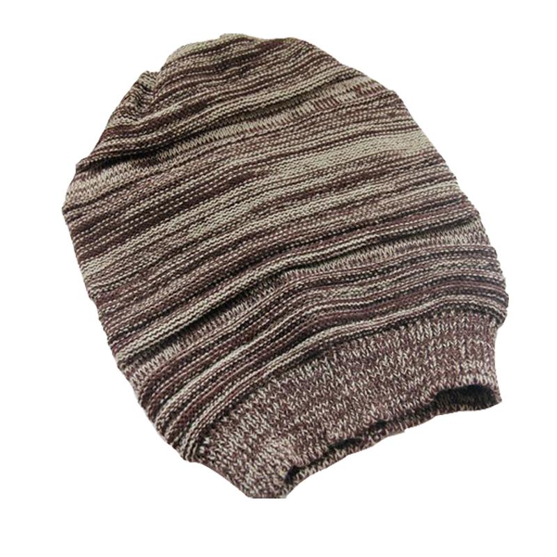 Baggy Beanie Hat Crochet Pattern : Unisex Women Men Warm Winter Baggy Beanie Knit Crochet ...