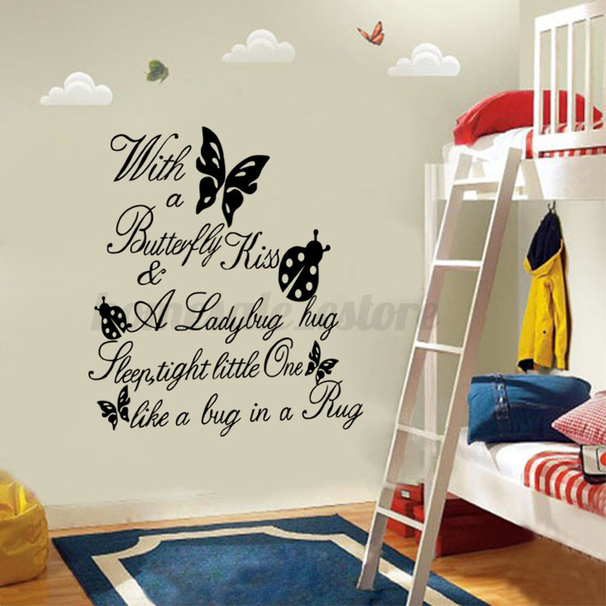 Family diy removable art vinyl quote wall stickers decal for Wall mural quotes