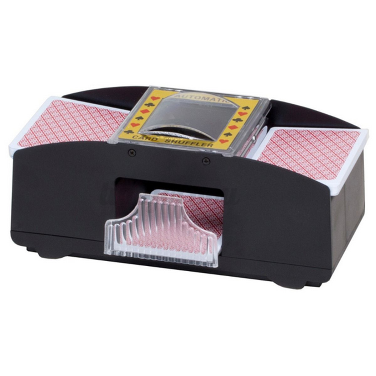 m langeur automatique de cartes jouer trieur plastique poker card shuffler uk ebay. Black Bedroom Furniture Sets. Home Design Ideas