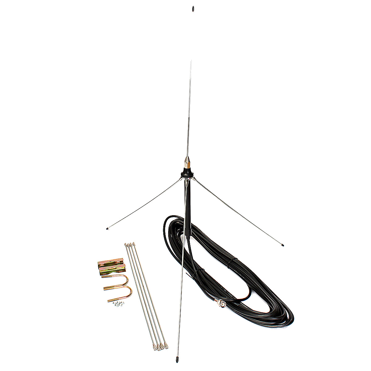 15m cable powerful 1  4 wavelength gp antenna for 0 5