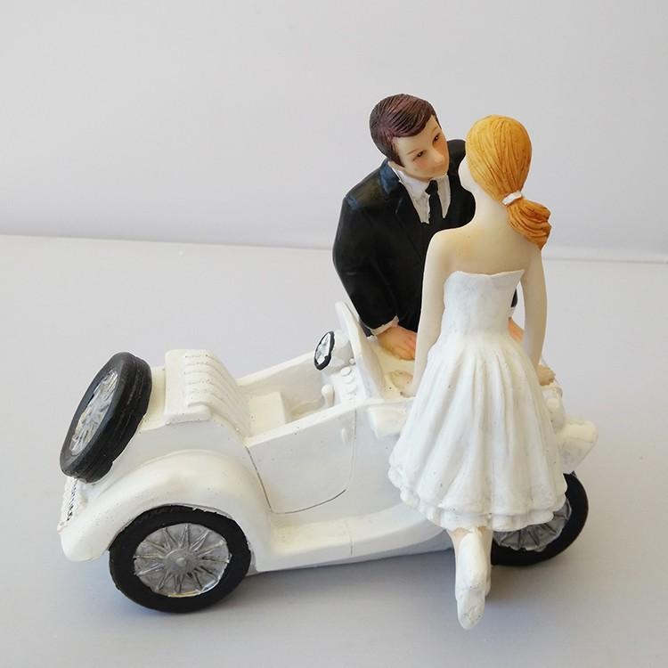 Funny Wedding Cake Topper Fishing Groom Amp Bride Couple Figure Cake Topper Decors