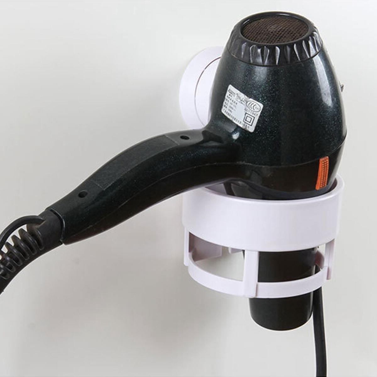 f nhalter f nhalterung mit saugnapf haartrockner halterung organizer neu ebay. Black Bedroom Furniture Sets. Home Design Ideas