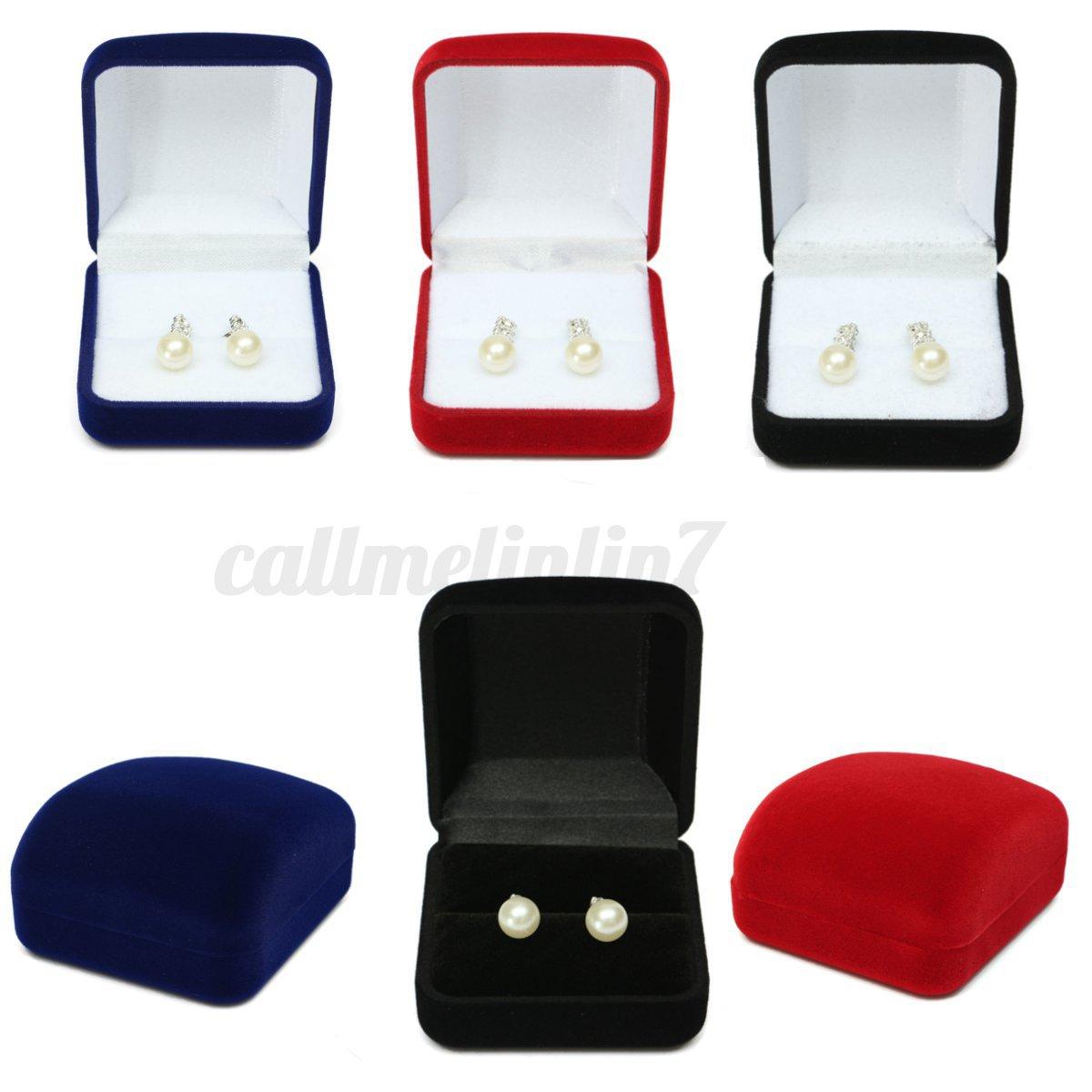 Ecrin bague anneau velours bo te bijoux boucle d 39 oreille - Boite a bijoux boucle d oreille ...