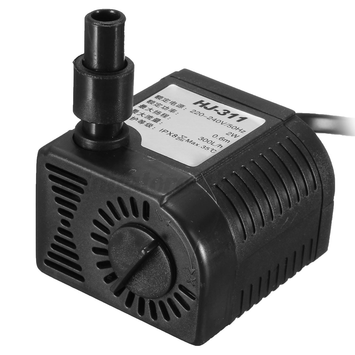 aquarium fish fountain hydroponic powerhead mini submersible pump with suckers ebay. Black Bedroom Furniture Sets. Home Design Ideas
