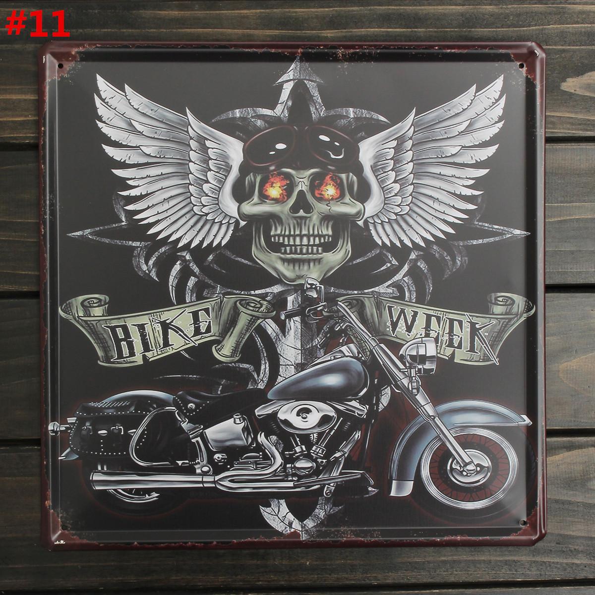 30x30cm vintage plaque metal affiche mural publicitaire bar caf pub maison deco ebay - Plaque publicitaire vintage ...