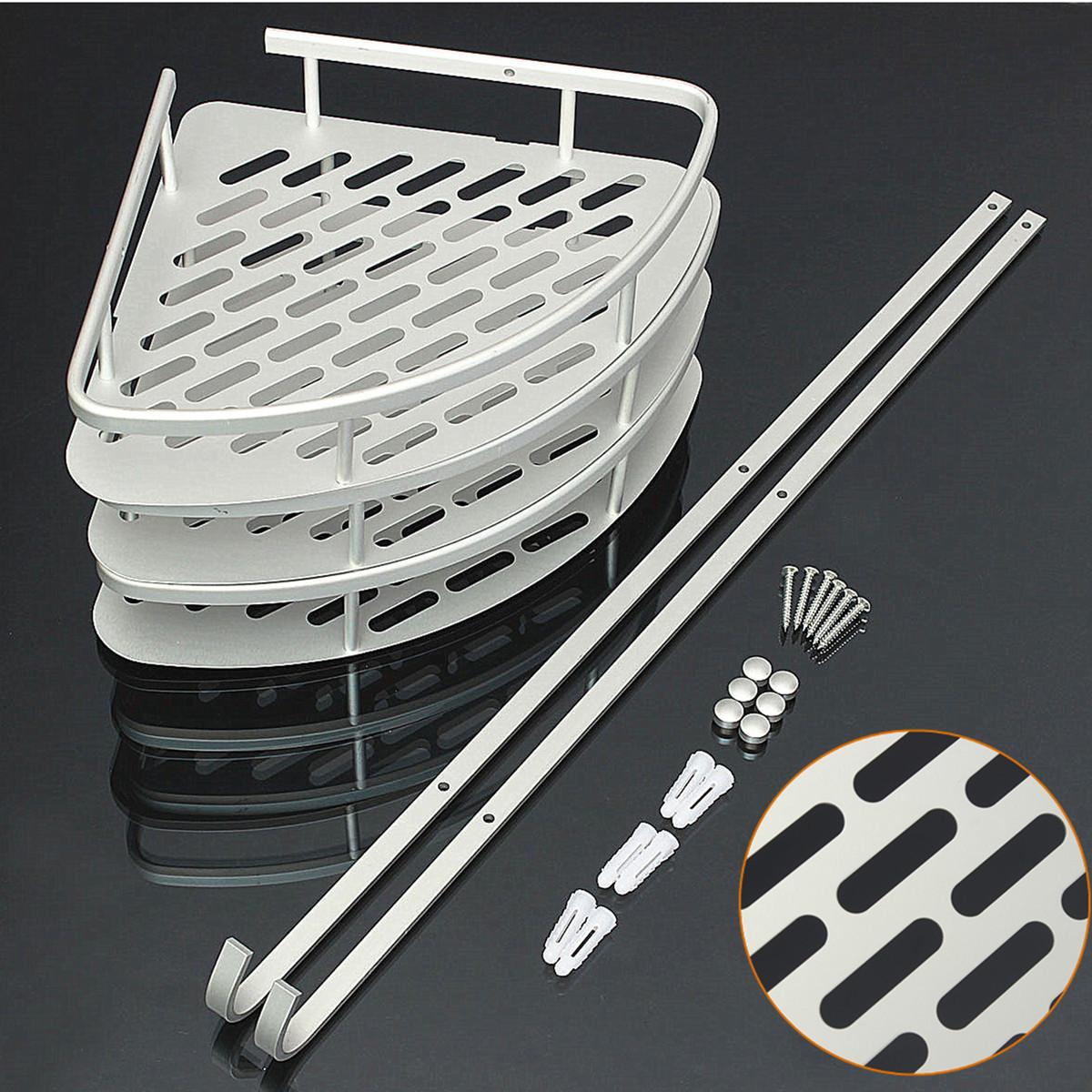 Rack Organizador De Baño:Triangular Shelf Shower Caddy Bathroom
