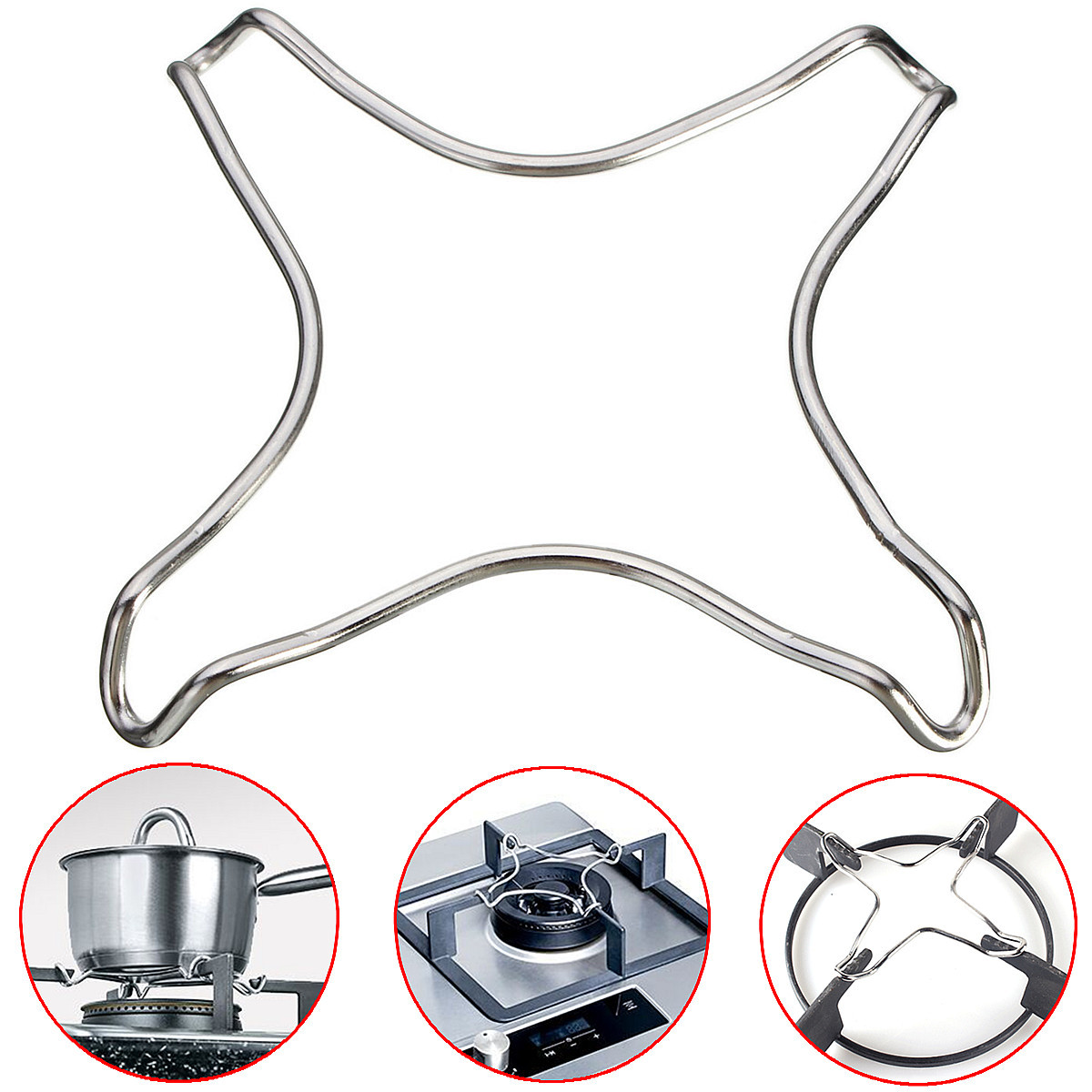 Hob Coffee Maker How To Use : Chrome Plated Metal Stove Top Coffee Maker Moka Trivet Pot Stand Gas Cooker Hob eBay