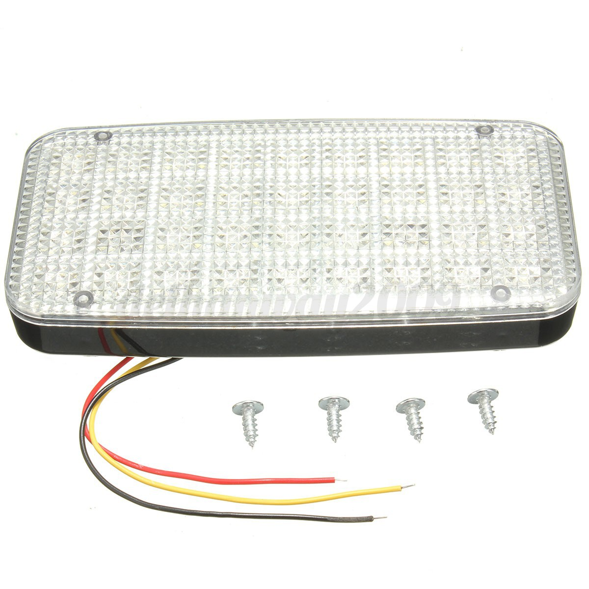 12v 36 white led ceiling dome roof interior light lamp for car auto van vehicle. Black Bedroom Furniture Sets. Home Design Ideas