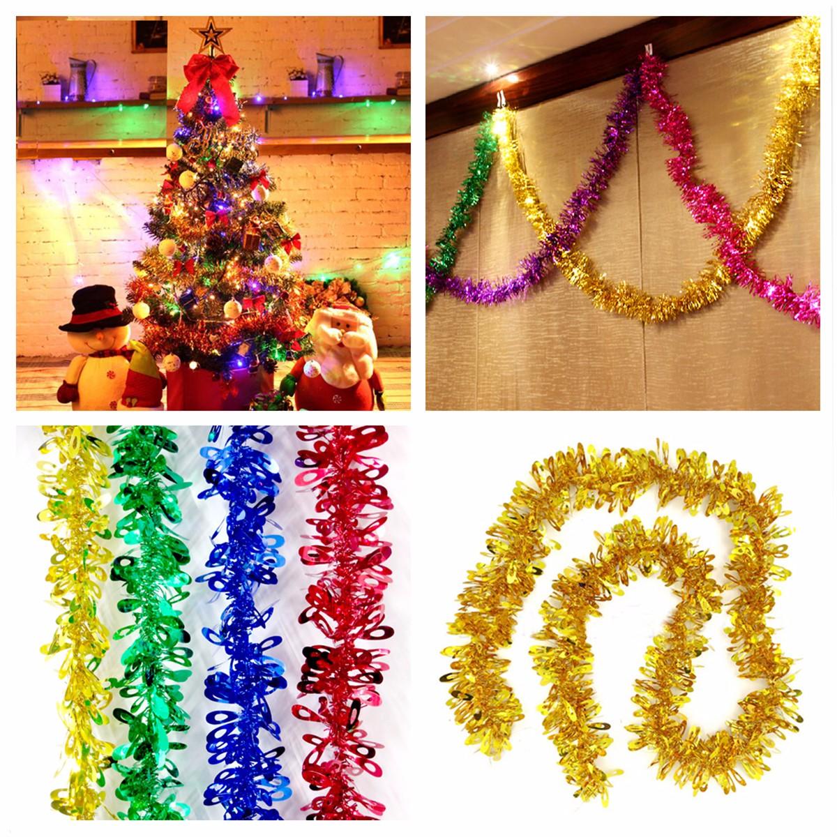 Christmas Tree Xmas Ornament Hanging Ribbon Ribbon Garland