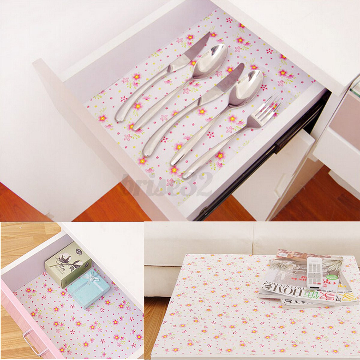 Kitchen Shelf Liner Paper: New Self Adhesive Contact Paper Shelf Drawer Liner Wall