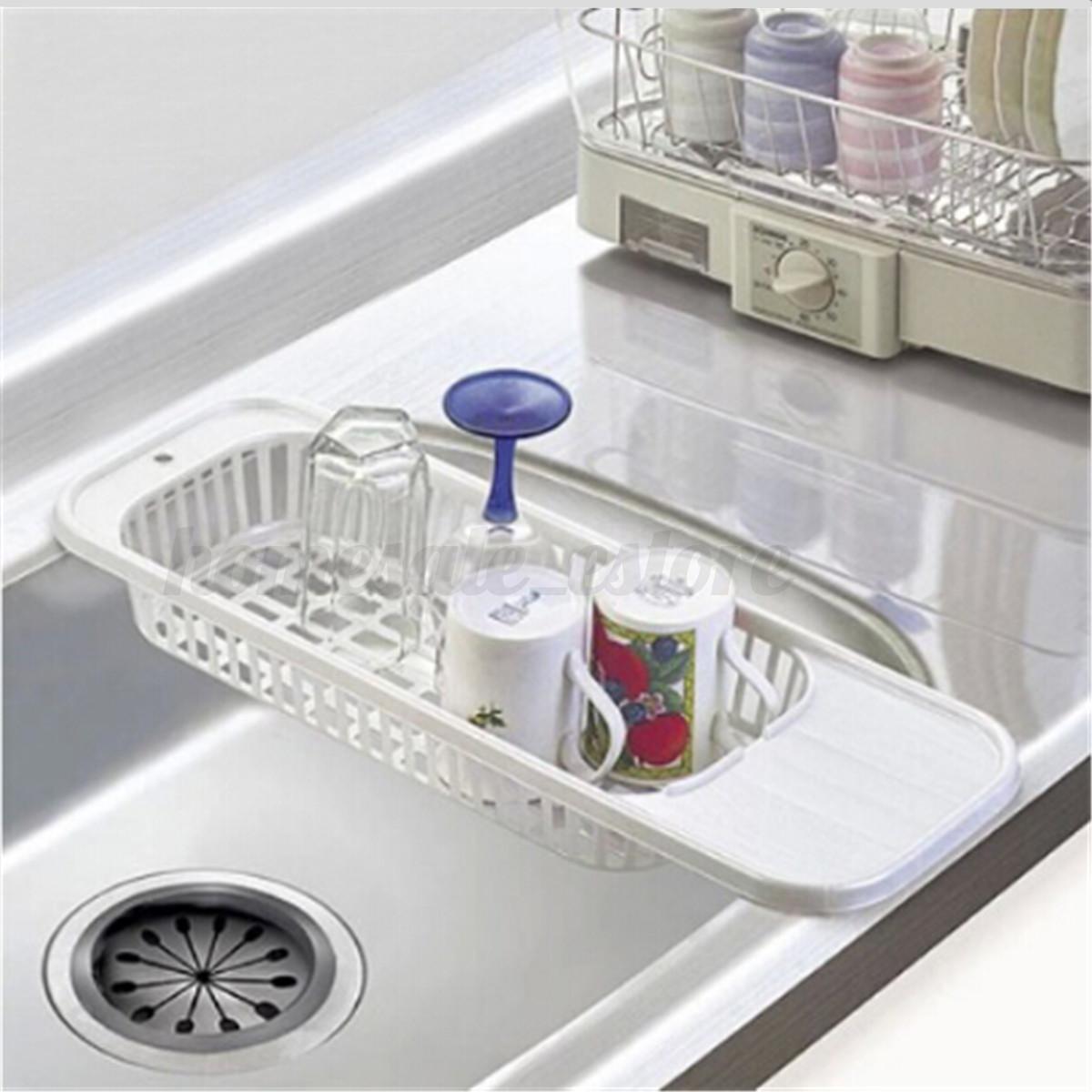 Kitchen Sink Dish Rack Insert Countertop Organizer Rack Dish Drying Rack Drainer Ebay