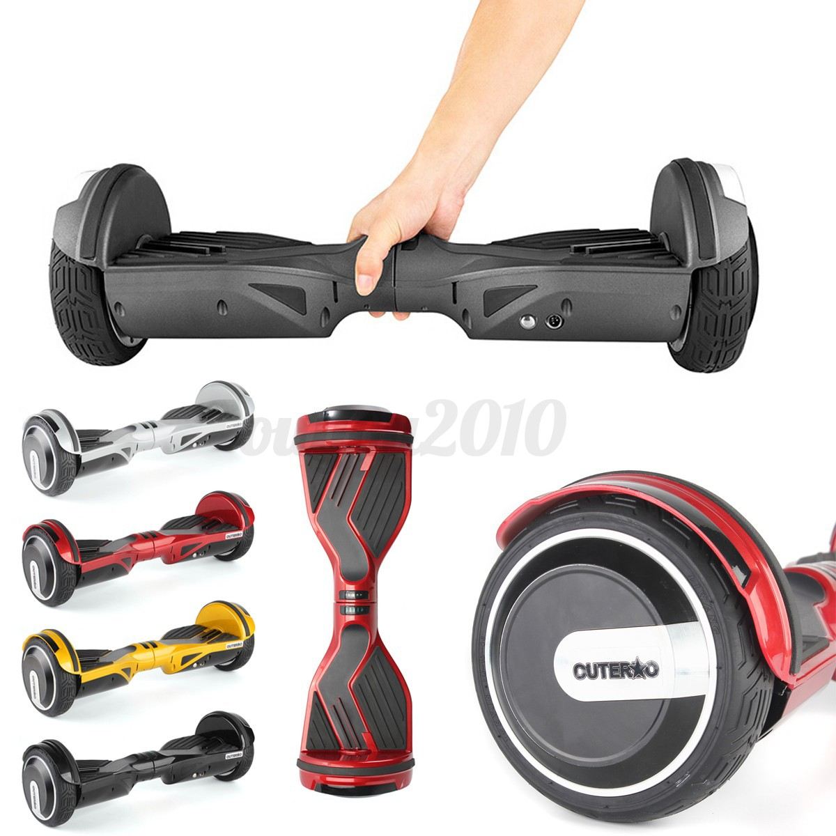 Balancing Unicycle Board: OUTERDO Smart Electric Self Balancing Unicycle Hover Board