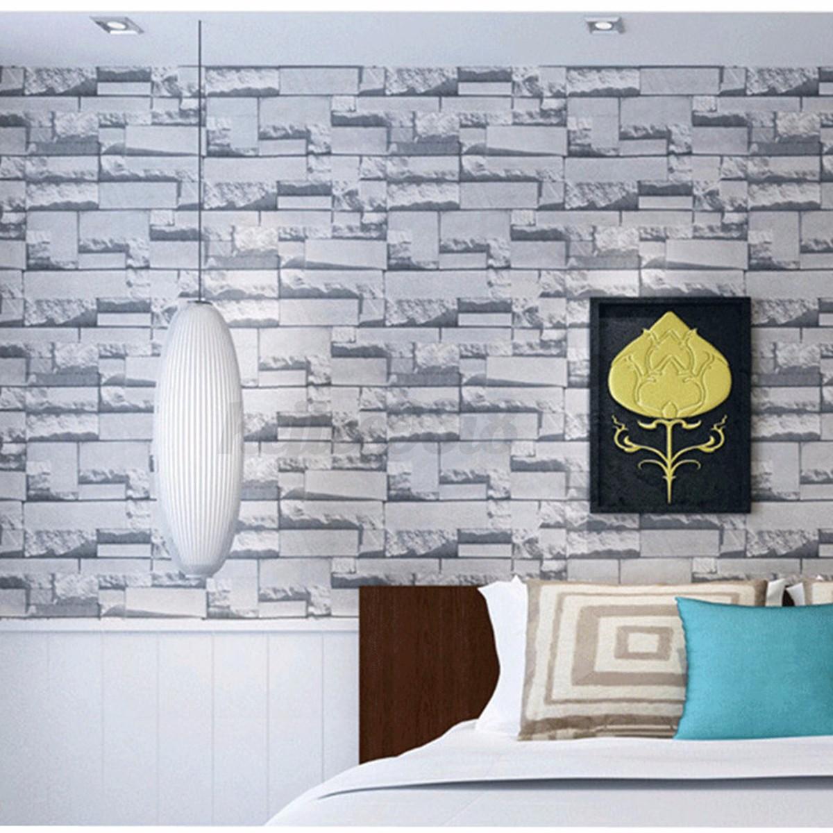 3d stein tapete vlies steintapete fototapeten umweltschutz wallpaper wand deko ebay. Black Bedroom Furniture Sets. Home Design Ideas
