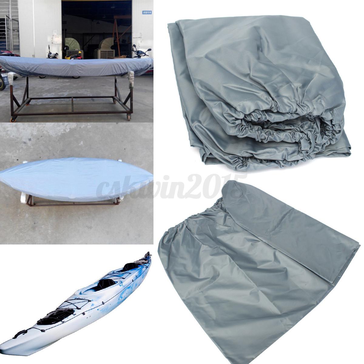 Waterproof Dust Proof UV Protection Kayak Canoe Storage Transport Cover