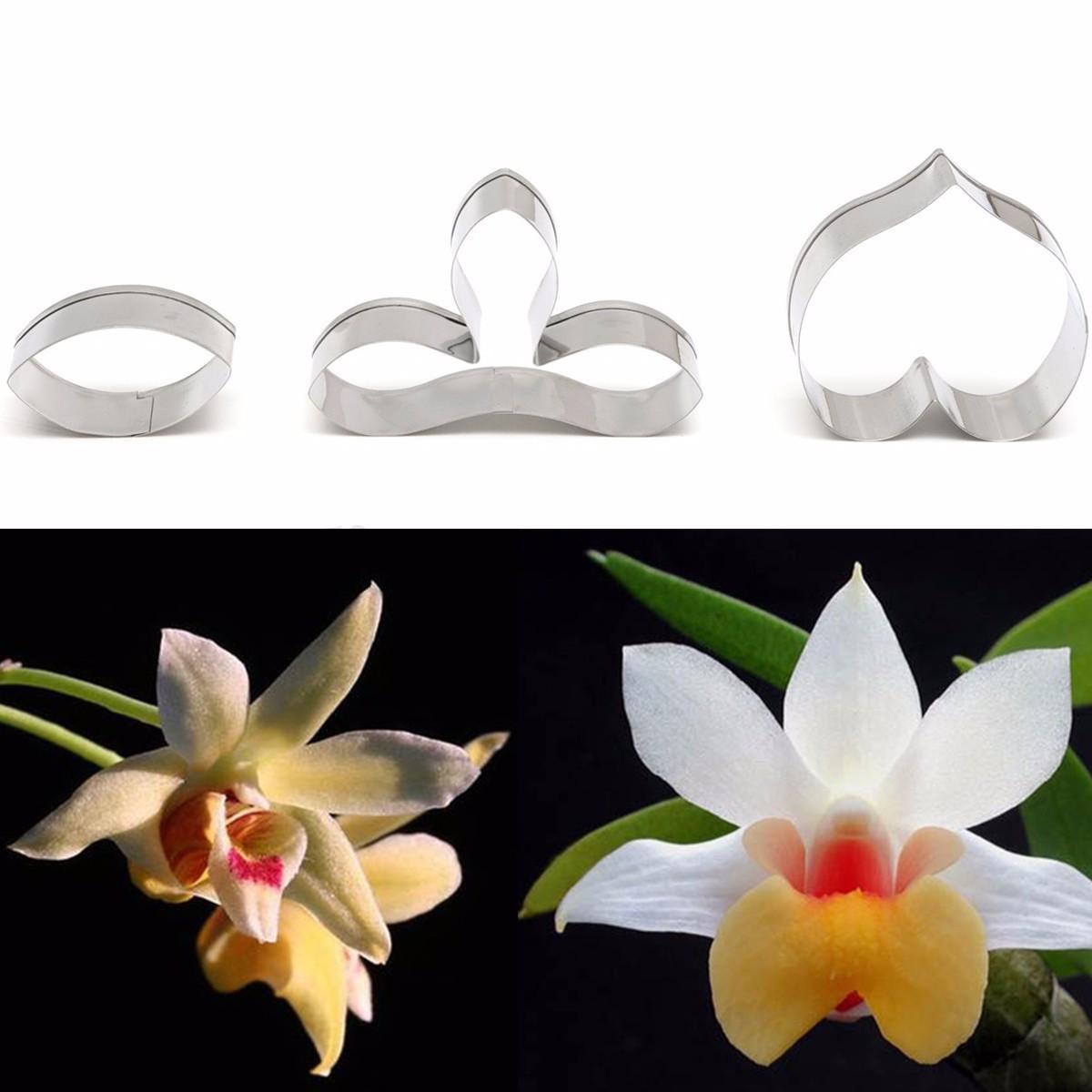 Emporte pi ce fleur p tisserie moule g teau decor d coupe p te cutter m tal ebay - Metal a la decoupe ...
