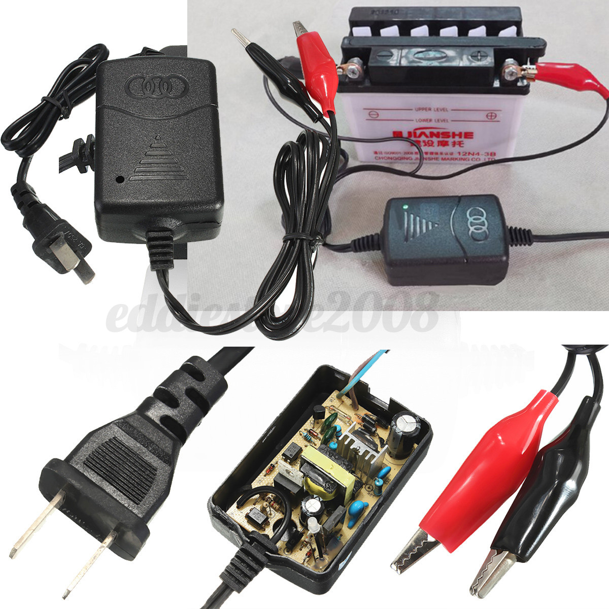 Remove Car Battery Before Charging