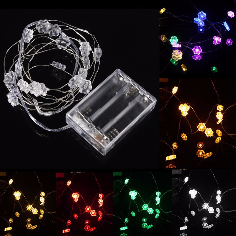 10/18/20/30 LED String Fairy Lights Lamps Battery Chirstmas Xmas Weddinng Party