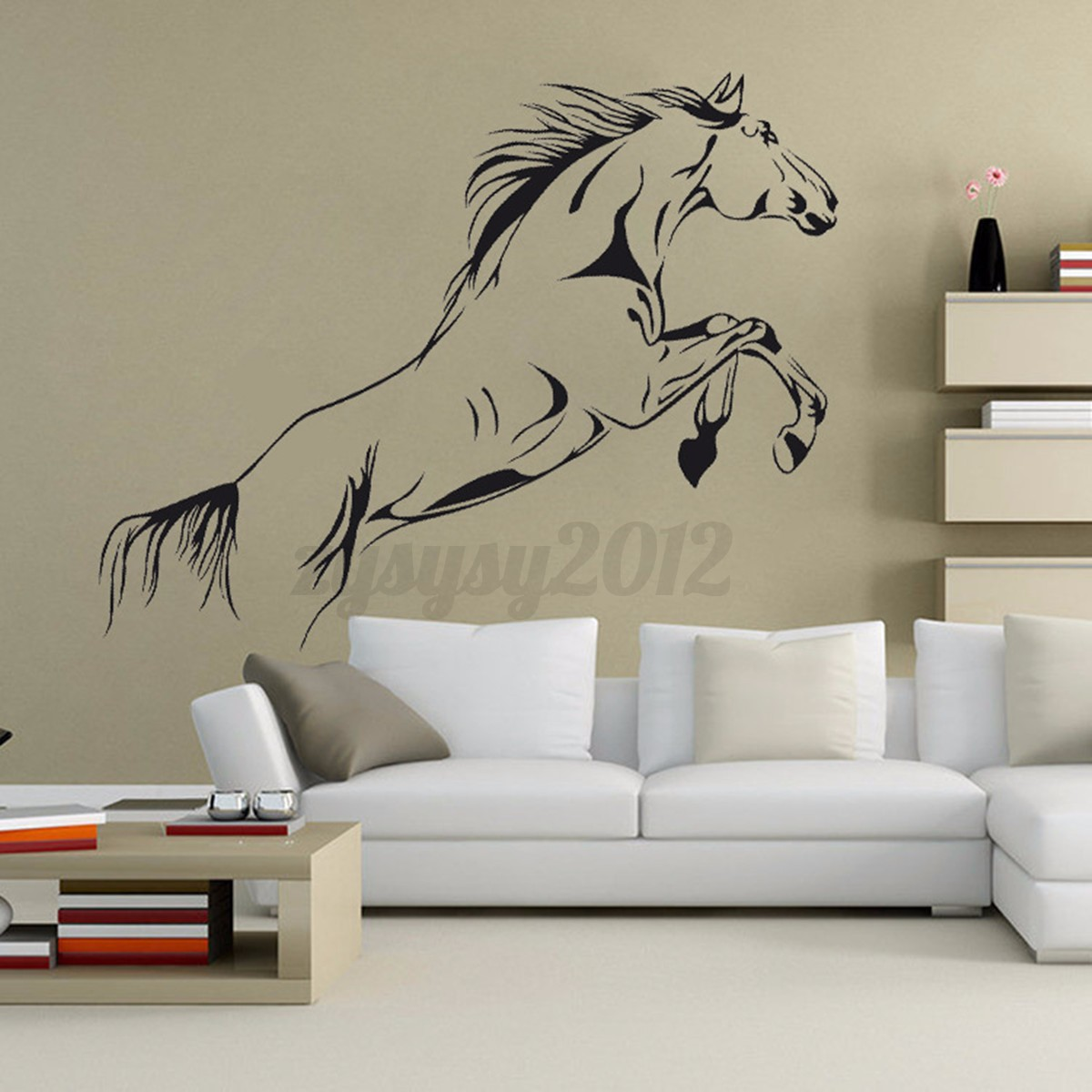 Animal Running Horse Wall Stickers Bedroom Home Art Vinyl Decal Removable Decor Ebay